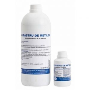 Albastru de metilen soluție antiseptică de uz veterinar -1L