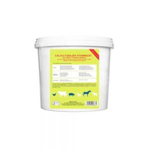 Calciu furajer vitaminizat - multivitamine pudră 5kg
