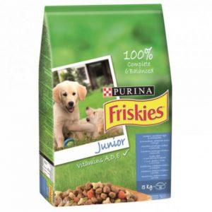 Friskies junior - cu vitamina A, D și E