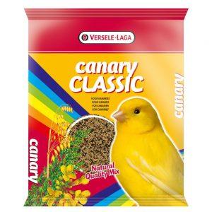 Măncare canary clasic - amestec tradițional de semințe naturale