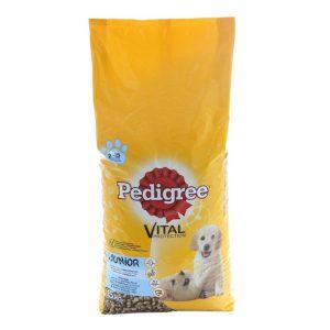 Pedigree uscat junior talie mică - esențiale pentru sănătatea câinelui