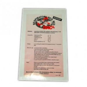 Respiratory red mix - Pentru infecții respiratorii, salmonella și infecții bacteriene