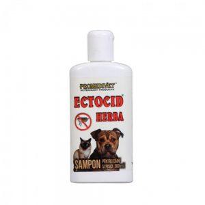 Ectocid herbal - șampon pentru câini și pisici