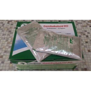 Gambokokzid plic - Pentru tratamentul tricomonozei și coccidiozei la porumbei