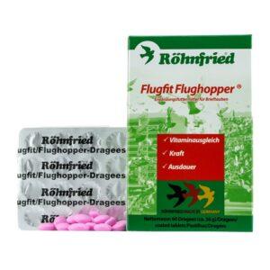 Flugfit deajee - tablete, alimentează porumbeii cu o doză mare de vitamine