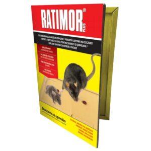Semplus ratimor plus - capcană cu lipici pentru șoareci
