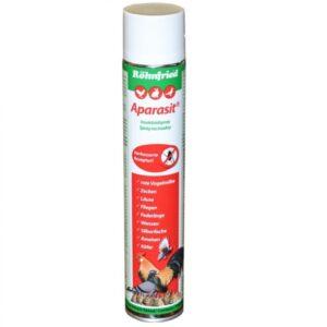 Aparasit spray porumbei - pentru acarieni, căpușe, purici și alte insecte